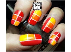 Golden Oldie Thursday Orange by fingerfood from Nail Art Gallery