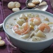 Slow Cooker Shrimp and Corn Chowder | Baked by Rachel