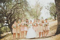Stylish Marvimon House Wedding: Raqel + Madison - dresses are lovely