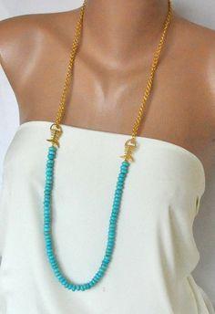 Turquoise Necklace - Etsy