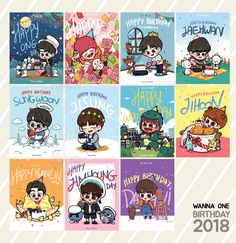 Wanna one my destiny My Big Love, Love Of My Life, Ong Seung Woo, Cartoon Art Styles, My Destiny, Ha Sungwoon, Pretty Wallpapers, First Art, Kpop Fanart