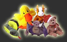 TY Beanie Babies... I had so many! my cousin had so many and I only had two in my lifetime
