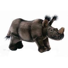 Hansa 12 Inch Plush African Rhino