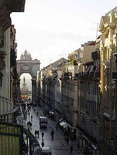 Baixa de Lisboa #Lisbon #beautifullplaces @eroticpt