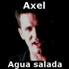 Acordes D Canciones: Axel Fernando - Agua salada