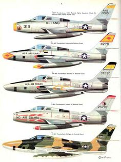 14 Republic F-84F Thunderstreak & Thunderflash Page 28-960