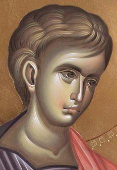 Greek Icons, Orthodox Icons, Sacred Art, Religious Art, Book Design, Christ, Saints, Angel, Face