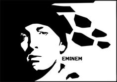 Eminem Wall Art by LynchmobGraphics on Etsy