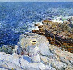 Childe Hassam, Côte Sud Appledore, 1913