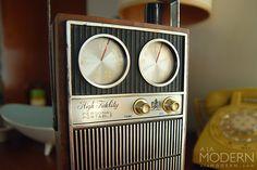 Royal London 1969 Faux Radio Flask on A La Modern