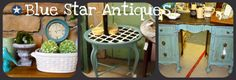 Blue Star Antiques- LOVE the ideas on her site.  Makes me want to re-do lots of things! :)