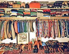 a real gentleman's closet @Kiel James Patrick