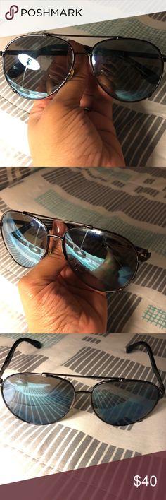 Marc Jacobs sunglasses Blue Marc Jacobs aviator sunglasses Marc Jacobs Accessories Glasses
