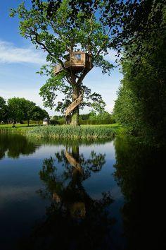 Cabane Perchée, FR #treehouse