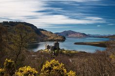 Eilean Donan Eilean Donan, Scotland, Mountains, Places, Water, Travel, Outdoor, Inspiration, Landscape