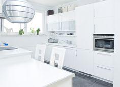 #modern #kitchen in white - photo for HomeBroker