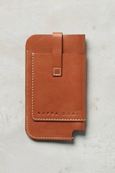 Stitched Leather iPhone Case