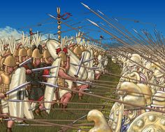 Roman charge against Carthaginian phalanx, Punic War Rome History, Ancient History, Ancient Rome, Ancient Greece, Rome Art, Punic Wars, Roman Legion, Roman Republic, Ancient Civilizations