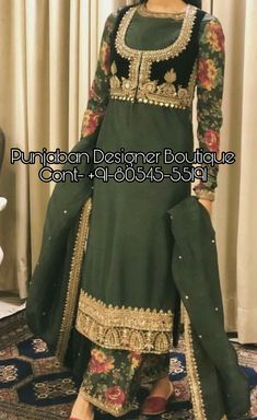 👉 CALL US : + 91 - or Whatsapp Designer Trouser Suit Work : Handwork COLOURS Available In All Colours Fine quality fabric femaleweddingguests Punjabi Suits Party Wear, Punjabi Salwar Suits, Salwar Kameez, Zardozi Embroidery, Couture Embroidery, Plazzo Suits, Trouser Suits, Pakistani Dress Design, Pakistani Dresses