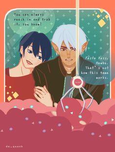 [DA2 spoilers][OC] Hawke and Fenris on a date : dragonage