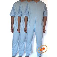 6fe170bd2a Pack 3 pijamas mono adaptado unisex manga corta Star. Pijama adaptado de  tejido fino para