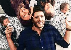 Miss Whizzy's Blog O' Pretty Things — Color version of the Ackles Family by @mishdad:)...