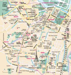 Map of Roppongi
