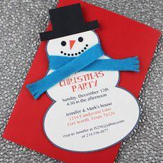 Printable Christmas Party Invitation Templates