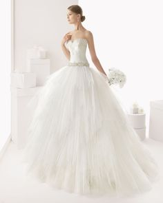 CASTRO - Corded lace and tulle dress with beading and off-the-shoulder             X48 Beaded belt, optional, silver colour