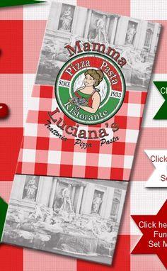 Mamma Luciana's, little Italian restaurant in Durban :-) My very favorite restaurant