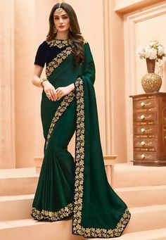 There is something so special about saree ~elegant and grace. Get this beautiful saree outfit from nivetas design studio Contact us on… Sari Bluse, Indian Wedding Wear, Indian Bridal, Crepe Saree, Cotton Saree, Party Kleidung, Elegant Saree, Saree Dress, Lehenga Gown