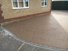 Resin Bound Driveways are mixed of natural aggregate, marble or recycled glass (stone) and clear resin. Resin Bound Driveways, Resin Driveway, Clear Resin, Recycled Glass, Tile Floor, Tile Flooring