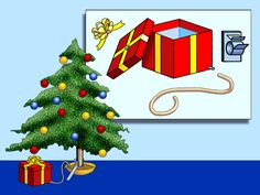 Christmas tree watering system