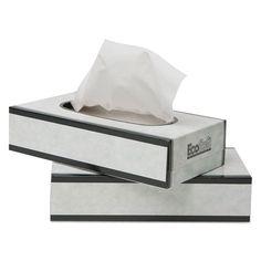 Wausau EcoSoft Facial Tissue 100 Sheets/Pack
