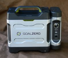 Goal Zero Extreme 350 kit.... plug and play solar device removes technical hurdles to going solar.  Great for tiny house.
