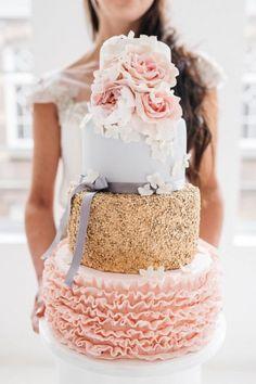 || Glamorous Wedding Cake ||