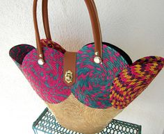 The Perfect Vintage Straw Bag