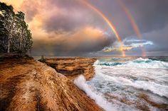 21 de curcubee duble din lumea intreaga 19. Lacul Superior, Michigan   19 din 21