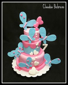 butterfly cake jasmin - claudia behrens