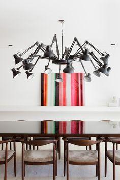Apartamento Leopoldo Couto Magalhães / Suite Arquitetos #dining #lighting