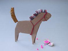 Paper pony.
