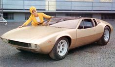 DeTomaso 5000 Mangusta (Ghia), 1966 - Prototipo