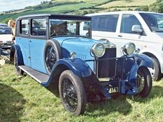 1929 Sunbeam Sixteen with Straight Six Cylinder OHV Engine (photo by R. Vintage Cars, Antique Cars, Vintage Auto, Classic Mercedes, Great British, Corvette, Cool Cars, Benz, Classic Cars