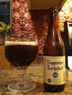 Trappistes Rochefort 10 by Brasserie de Rochefort; Rochefort, Belgium.