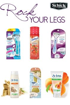 Be Your Best Self & Rock Every Day with Schick | The Shopping Mama sponsored #RockYourLegs pin