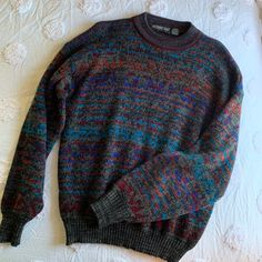 Grandpa Sweater, Ugly Sweater, Tribal Sweater, Retro Outfits, Cool Outfits, Fashion Outfits, Cool Sweaters, Vintage Sweaters, Sirius Black