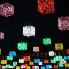 Luces de Navidad, #Madrid