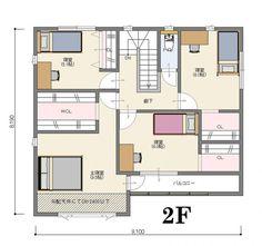 間取り【南玄関 5LDK 40坪】 | いえものがたり株式会社|ジャストオーダー <宇都宮市/注文住宅> Floor Plans, House, Japanese Style, Design, Anatomy, Japan Style, Home, Haus, Design Comics
