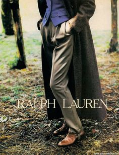 Ralph Lauren Fall/Winter 85.86 (Ad Campaign) Model: Yasmin Le Bon Photographer: Bruce Weber