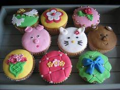 Taarten en Cupcakes decoreren